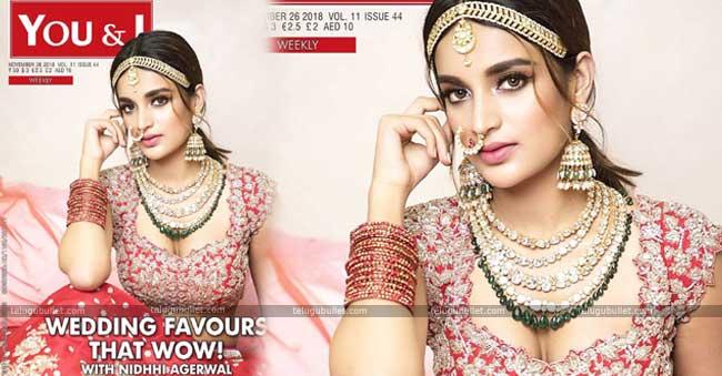 Pic Talk – Nidhhi Agerwal Turns Hottest Bride