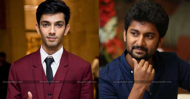 Anirudh Composing The Music For Nani's Next