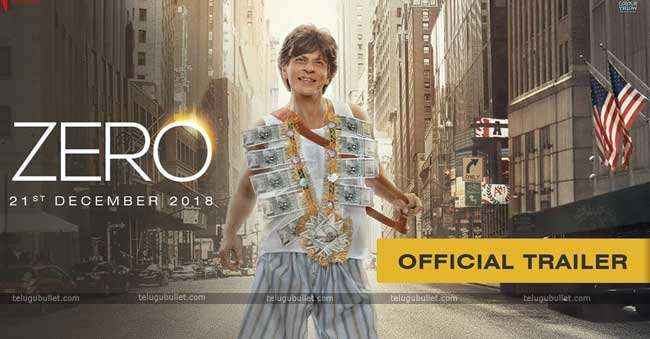 Zero Trailer – Shah Rukh Khan's Love Triangle Is Awesome