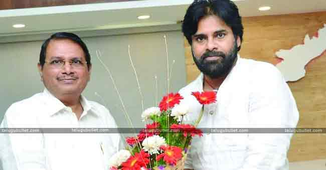 Janasenani Is Eager To Fill The Party With Ex Govt Officials