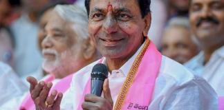 CM KCR to address media at Telangana Bhavan today at 4 pm