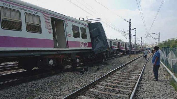 Hyderabad: Two trains collide in Kacheguda, 30 injured