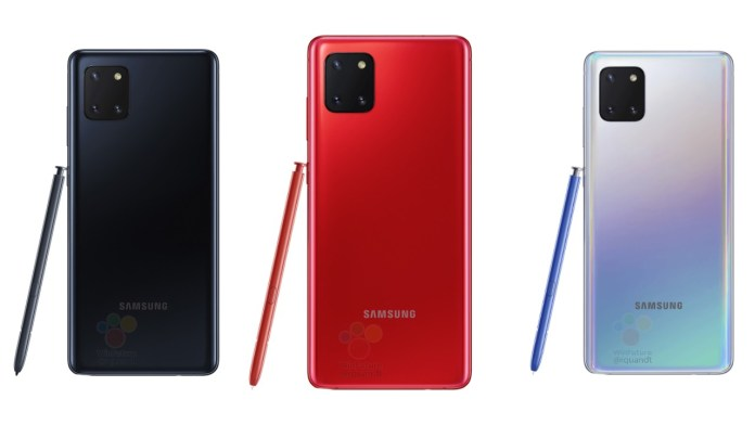 Samsung Galaxy Note 10 Lite Price Leaked Ahead of Launch This Month