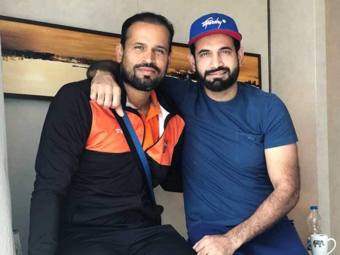 Irfan Pathan's Special Message For Brother Yusuf After He Goes Unsold