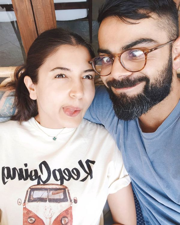 Anushka Sharma shared a cute and funny picture