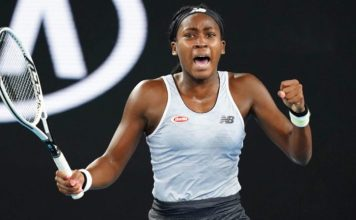 Coco Gauff posted a TikTok video on her Twitter feed