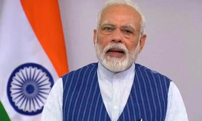 PM Modi to address nation At 8 p.m.,