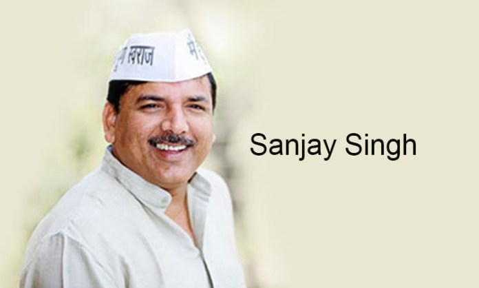 AAP MP Sanjay Singh to accompany 33 migrants flying to Patna