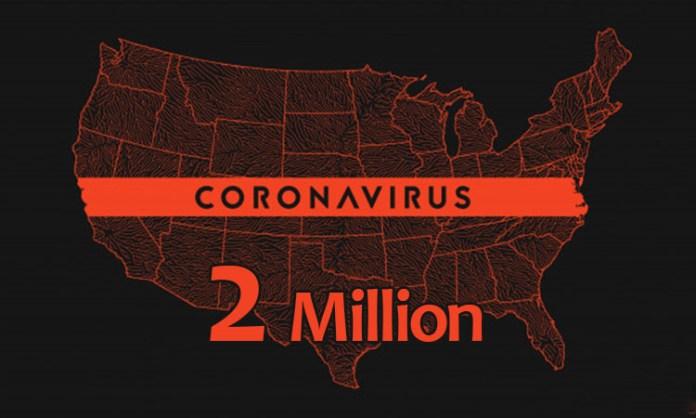 US COVID-19 cases surpass 2 mn: Johns Hopkins University