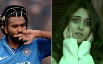 she thought I had twisted my hand :Rohit Sharma