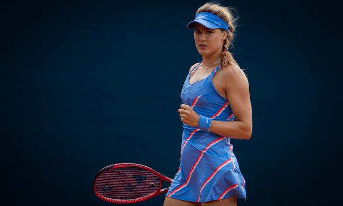 Eugenie Bouchard enters second round of Prague Open
