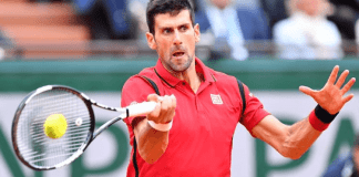 Tennis star Novak Djokovic