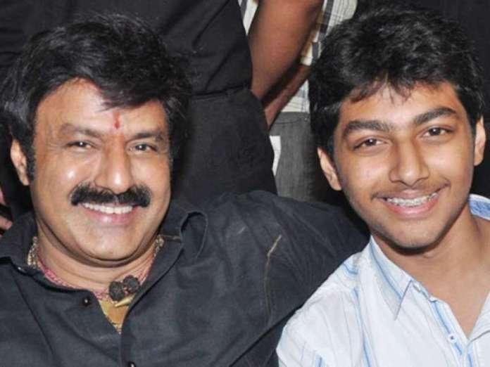 Mokshagna' debut in Telugu film Industry
