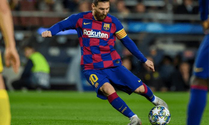 Messi sets club record but Barca drop points