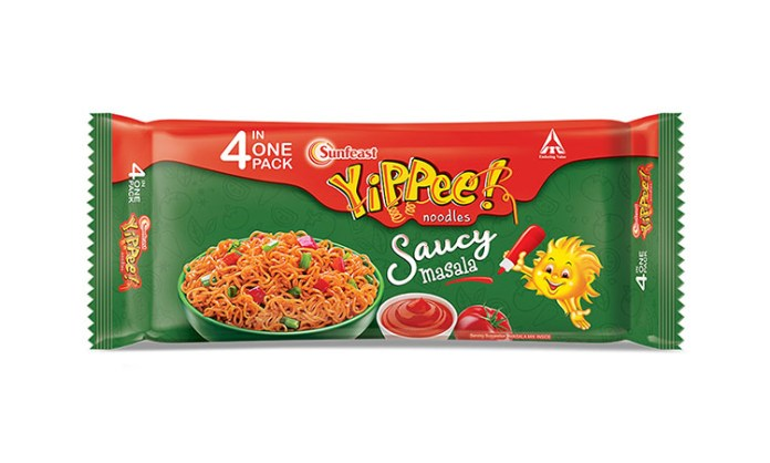 ITC Ltd. launches Sunfeast YiPPee! Saucy Masala- a Googly of Saucy Flavor in YiPPee! with unique red colored noodle block