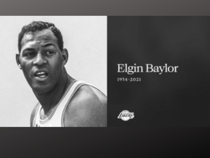 Lakers great & Clippers VP Elgin Baylor passes away at 86