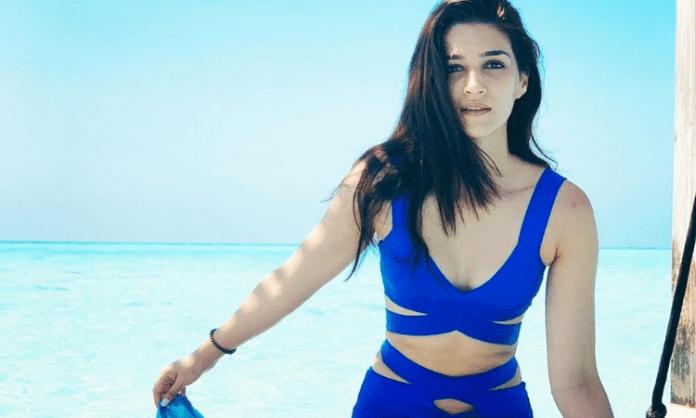 Kriti Sanon wraps up shoot for 'Bhediya'
