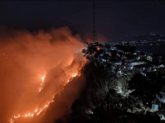 Mizoram forest fire: PM assures CM of all help