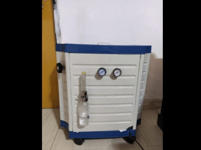 Engg college in Lucknow comes up with indigenous O2 concentrator