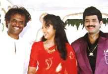 Rajinikanth, Meena, and Balakrishna