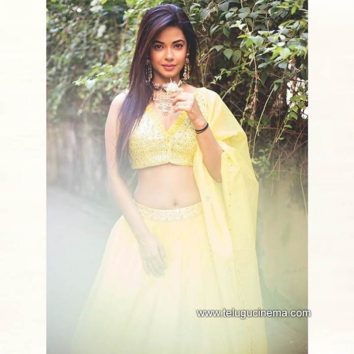 Meera Chopra traditional look