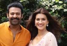 Prabhas and Kriti Sanon in Adipurush