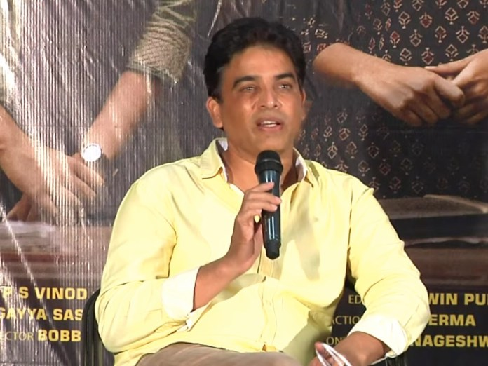 Dil Raju at Vakeel Saab press meet