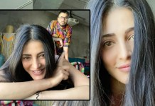 Shrut Haasan with Santanu Hazarika