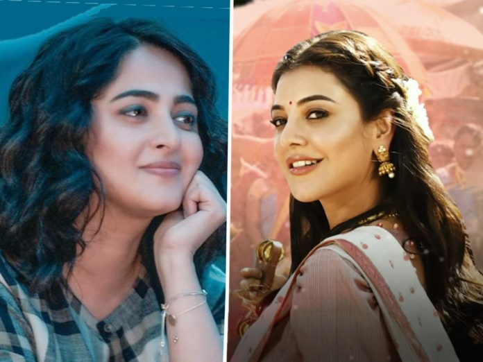 Kajal replies to Anushka after seven months!   Telugu Cinema