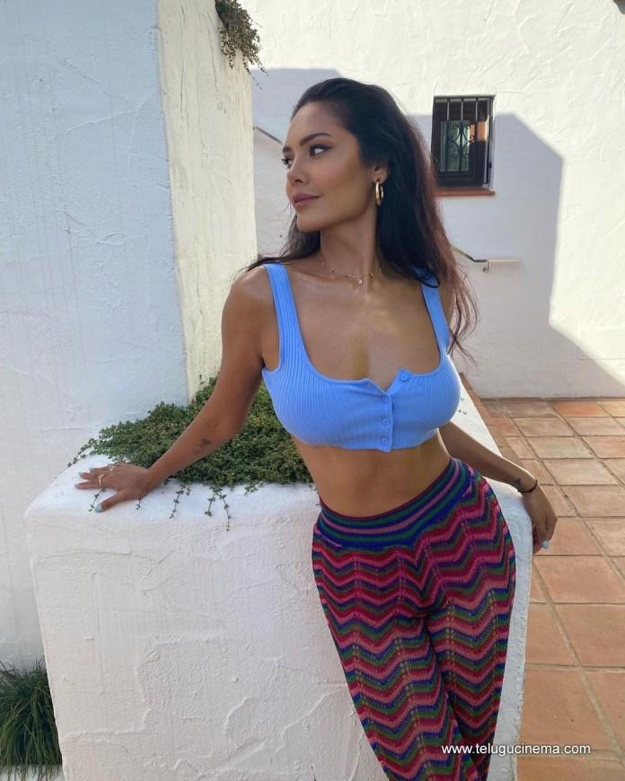 Esha Gupta in Marbella, Spain