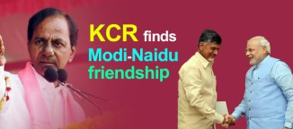 Narendra modi Chandrababu Naidu and KCR