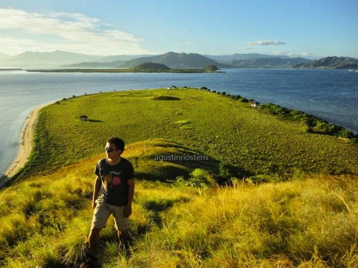 Pulau Kenawa Pemandangan dari ketinggian