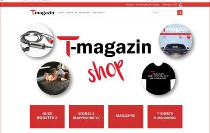 Neuer T&Emagazin-Shop