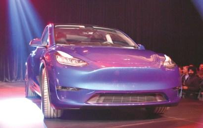 Das Tesla Model Y