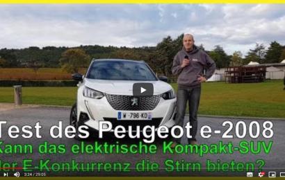 Peugeot legt e-2008 vor