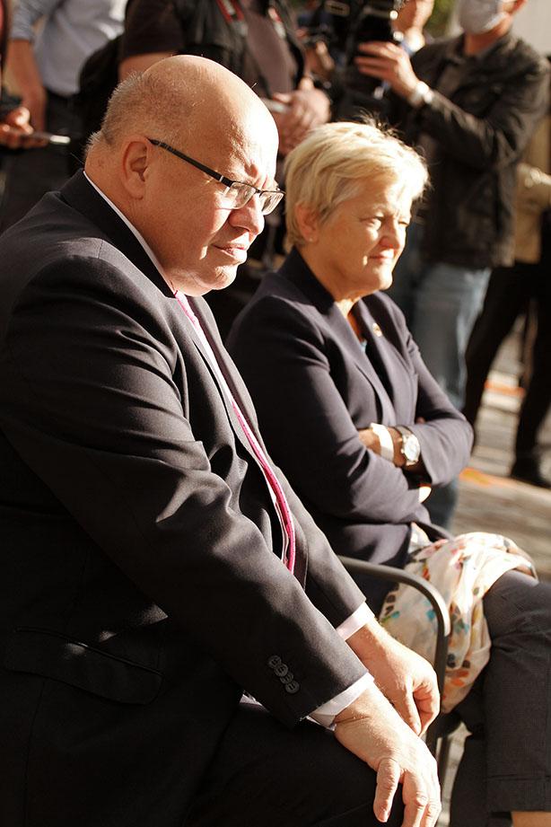 Peter Altmaier und Renate Künast