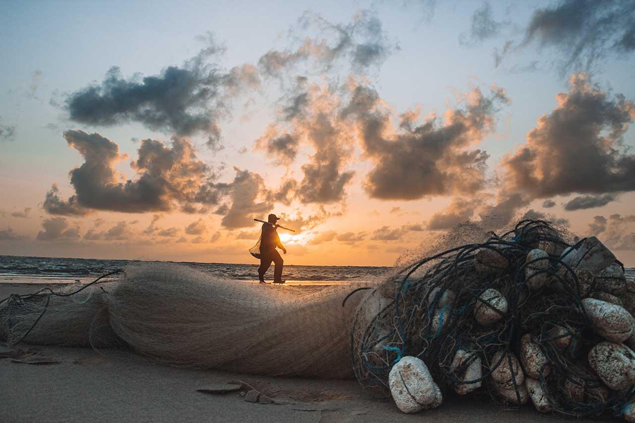 Uma das principais atividades da ilha de marajó é a pesca