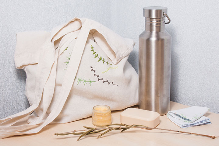 Produtos Sustentáveis: garrafas reutilizáveis