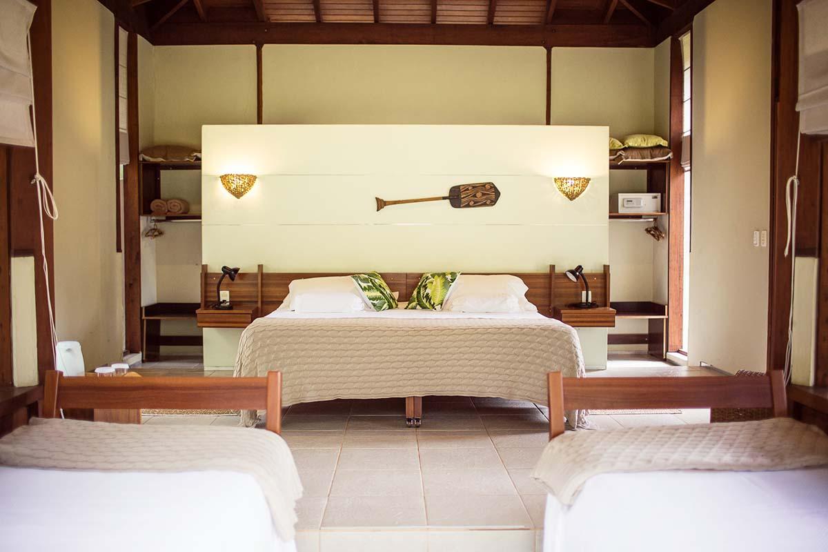 Quarto do Cristalino Lodge - luxo e sustentabilidade na Amazônia