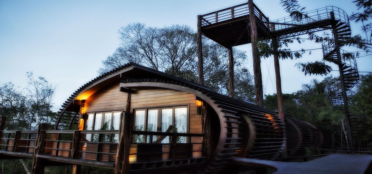 Mirante do Gavião, um dos primeiros hotéis sustentáveis da amazônia