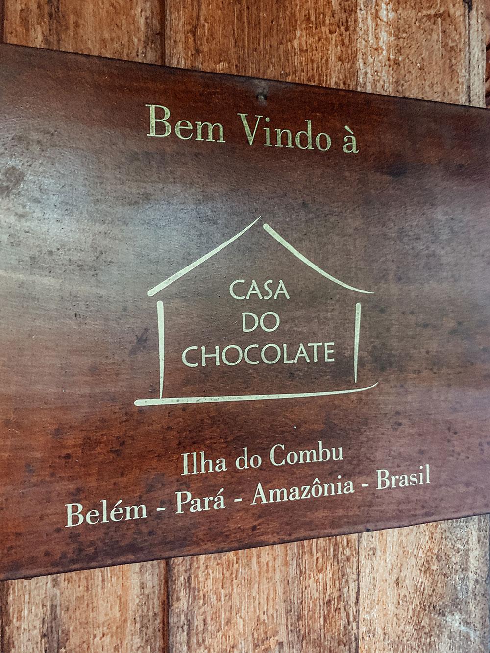 Ilha do Combu, Pará - especialidade em chocolates artesanais