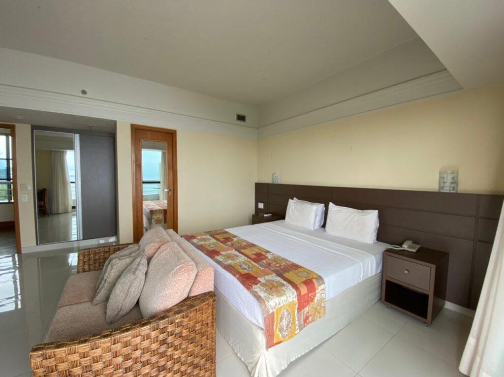 quartos simples com vista para o rio do tropical executive
