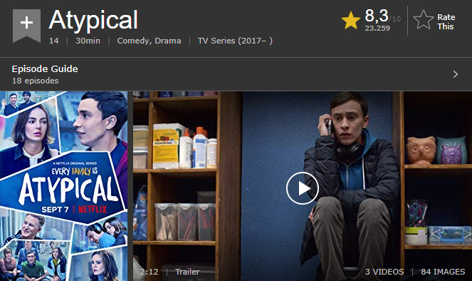 atypical imdb