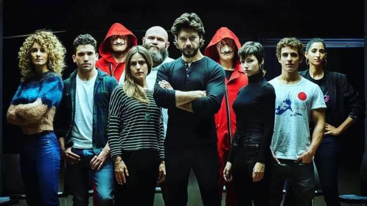 la casa de papel terceira temporada inicio produção
