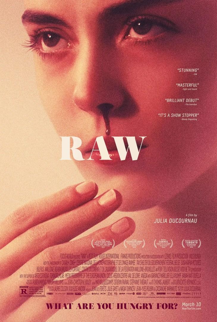 raw filme poster