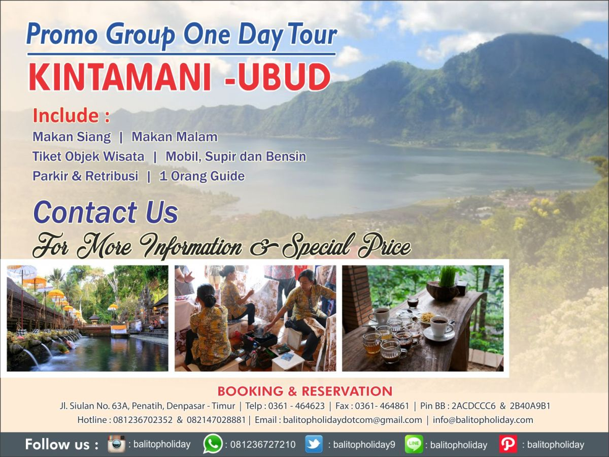 Paket Tour Bali Promo 2017