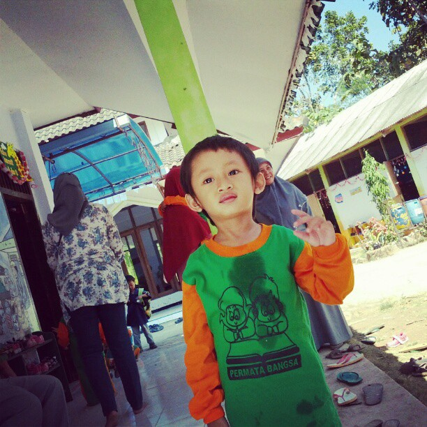 bakat anak hari pertama sekolah 3