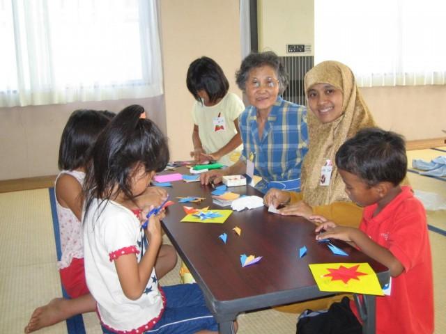 bakat anak maya hirai origami