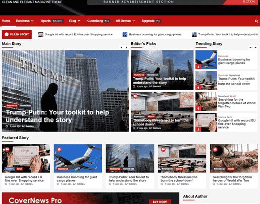 covernews teması