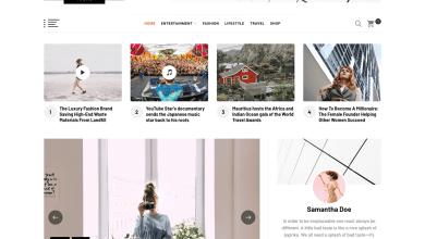 blog prime modern blog teması